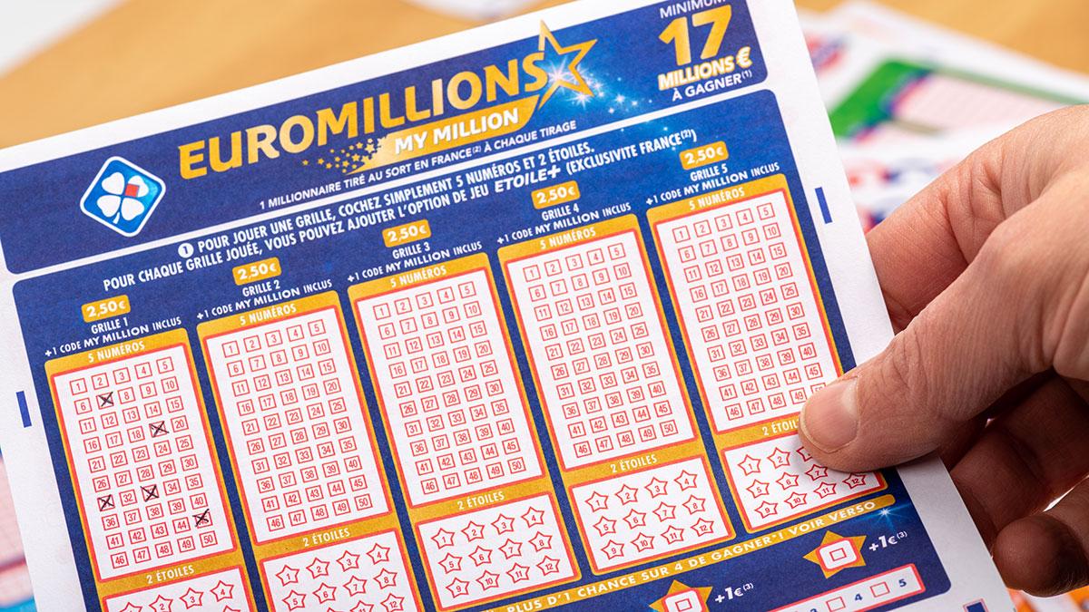 Ticket FDJ d'Euromillions