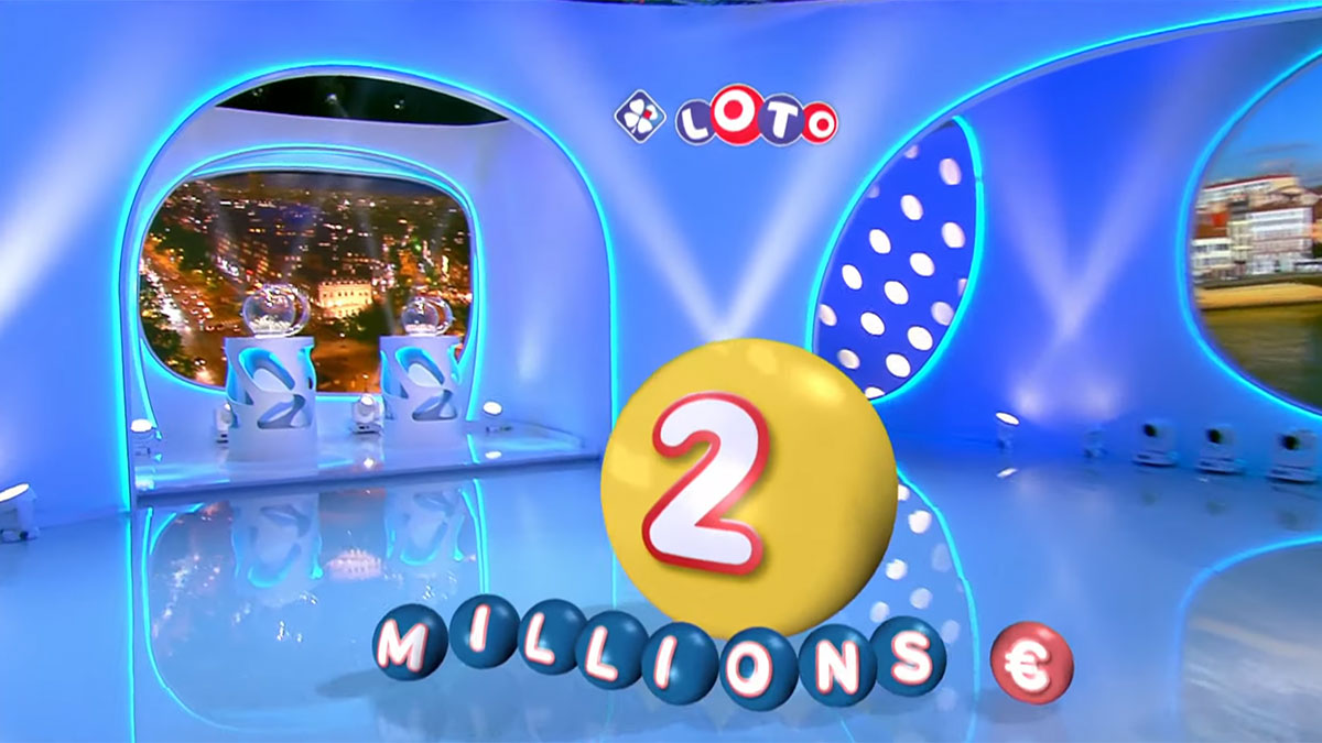 Cagnotte de 2 millions d'euros en jeu au tirage du Loto de la Française des Jeux